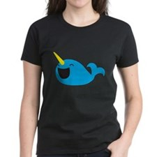 Super cute Narwhale smiley T-Shirt