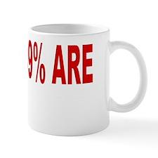 the 99% are to big to fail dark apparel Mug