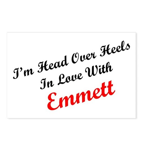 In Love with Emmett Postcards (Package of 8)