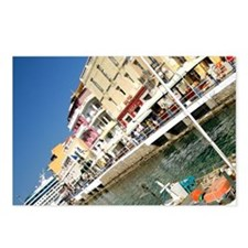Crete (aka Kriti). Port c Postcards (Package of 8)