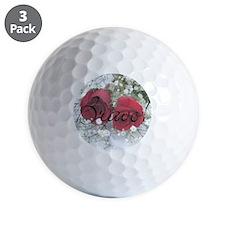BravoRoseNoteCard Golf Ball