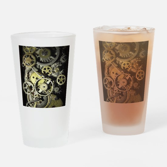 GearsIpadSleeve Drinking Glass