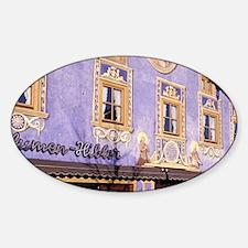 Marienplatz Sticker (Oval)