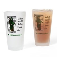 RobinHood12x12 Drinking Glass