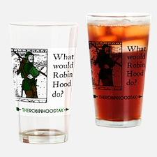RobinHood12x12 Drinking Glass