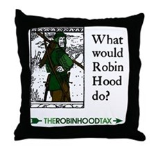 RobinHood12x12 Throw Pillow
