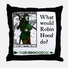 RobinHood12x12 Throw Pillow