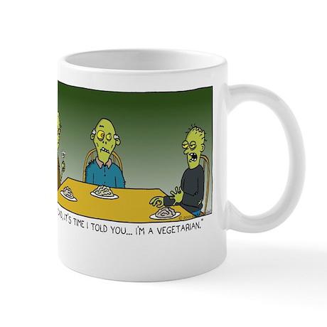 zombie veggie Mug
