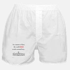 Bloodhound World Boxer Shorts