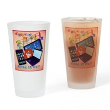 Cyber Monday-Bring It On!   pillow Drinking Glass