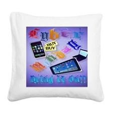 Calender Cyber Monday-Bring I Square Canvas Pillow
