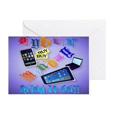 Calender Cyber Monday-Bring It On!2 Greeting Card
