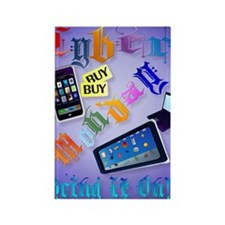 Cyber Monday-Bring It On-2 Poster Rectangle Magnet
