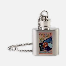 Cyber Munday-Bring It On! Poster Flask Necklace