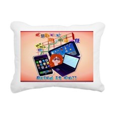 Yard Sign Cyber Monday-B Rectangular Canvas Pillow