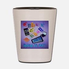 Cyber Monday-Bring It On!   pillow2 Shot Glass