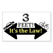 3feetlwblkcarbike Decal