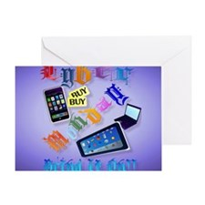 0Mouse Pad Cyber Monday-Bring It On! Greeting Card