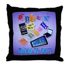 0Mouse Pad Cyber Monday-Bring It On!  Throw Pillow