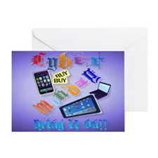 Yard Sign Cyber Monday-Bring It On!2 Greeting Card