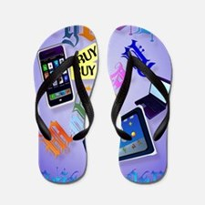 Large Poster Cyber Monday-Bring It On!2 Flip Flops
