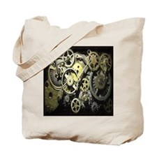 GearsWallClockFaces8.5 Tote Bag