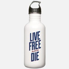 live-free-stack-shirt Water Bottle