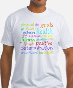 fitness words Shirt