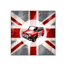 "616 Union Jack Mini Montage Square Sticker 3"" x 3"""