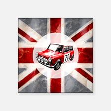 "616 Union Jack Mini Montage Square Sticker 3"" x 3"""