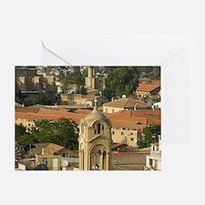 The Phaneromeni church from Shacolas Greeting Card