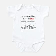 Border Terrier World Infant Bodysuit