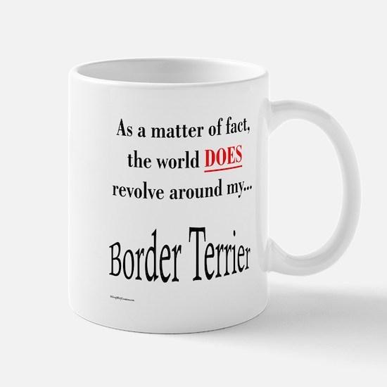 Border Terrier World Mug