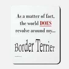 Border Terrier World Mousepad