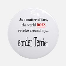 Border Terrier World Ornament (Round)