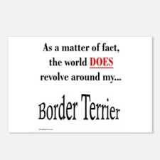 Border Terrier World Postcards (Package of 8)