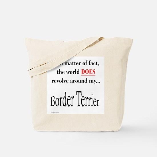 Border Terrier World Tote Bag