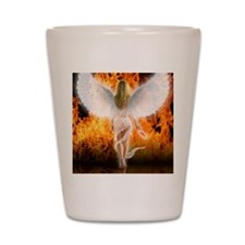 545 Fallen Angel for Cafe Press d Shot Glass