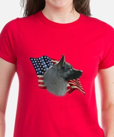 Elkhound Flag Tee