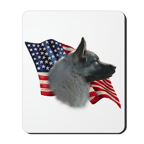 Elkhound Flag Mousepad