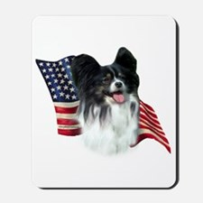 Papillon Flag Mousepad