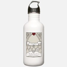 wedding_40_anniversary Water Bottle