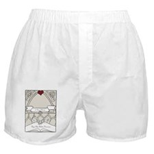 wedding_40_anniversary_print Boxer Shorts