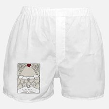 wedding_40_anniversary_print Boxer Shorts