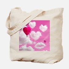 556 Heart Clouds for Cafe Press e Tote Bag