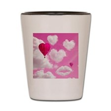 556 Heart Clouds for Cafe Press e Shot Glass