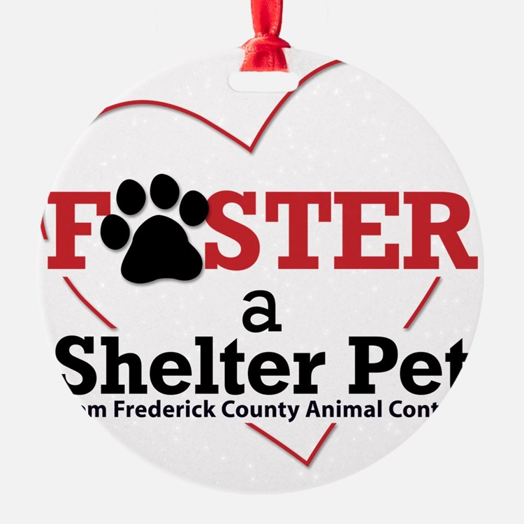 Foster a Shelter Pet Frederick MD Ornament