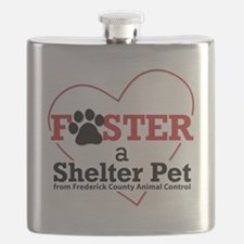 Foster a Shelter Pet Frederick MD Flask
