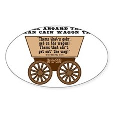 Wagon Rectangle Decal