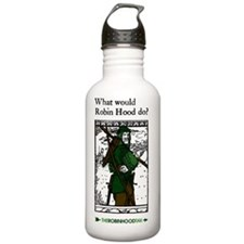 RobinHood11x17 Water Bottle